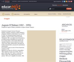 Augusto D?Halmar (1882 - 1950) (Educarchile)