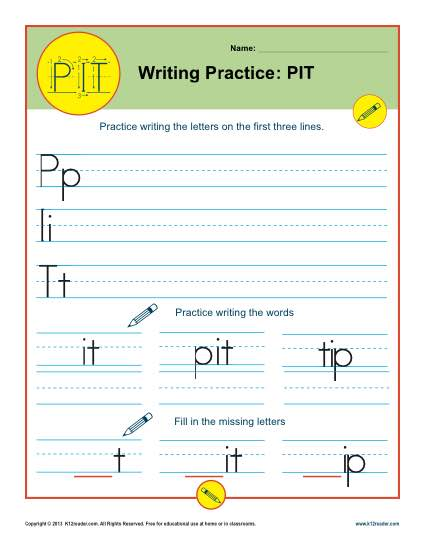Writing Practice: PIT