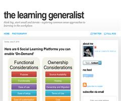 The Learning Generalist: Here are 6 Social Learning Platforms you can enable 'On-Demand'