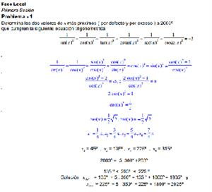 Olimpiadas Matemáticas (más ejercicios resueltos)