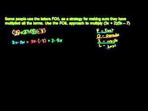 Multiplicación de polinomios  - Parte 1 (Khan Academy Español)