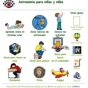 Astronomía para niños