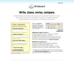 Writeboard: aplicación de escritura colaborativa, de 37signals