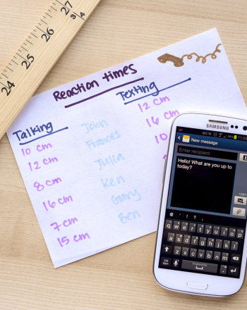 Texting Versus Talking: The Effects of Cell Phones on Reaction Time