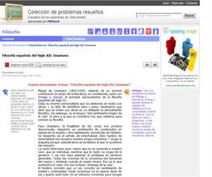 Filosofía española del Siglo XX: Unamuno. (Selectividad.tv)