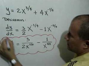 Derivadas de funciones algebraicas (JulioProfe)