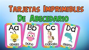 Moldes de letras del abecedario para imprimir