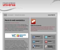 Hacia la web semántica, artículo de universiag10.org (Referencia a gnoss.com)