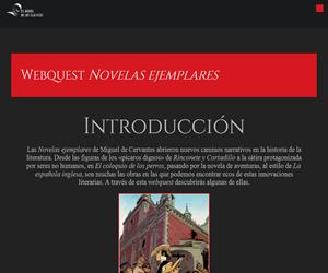 Webquest sobre las 'Novelas Ejemplares' de Cervantes (Oxford University Press)