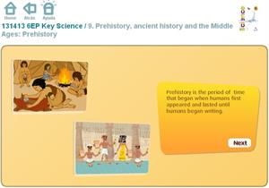 Prehistory, ancient history and the Middle Ages: Prehistory. Inglés 6º Primaria (SM)
