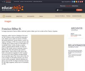 Francisco Bilbao Barquín (1823-1865) (Educarchile)