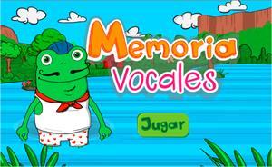 Practiquemos la memoria con vocales