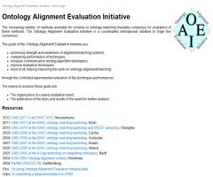 Ontology Alignment Evaluation Initiative