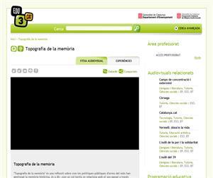 Topografia de la memòria (Edu3.cat)