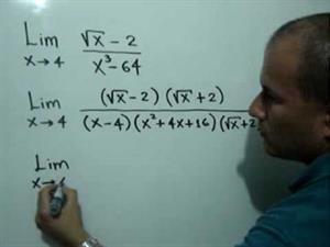 Límite con factorización y racionalización (JulioProfe)