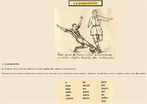 La preposición. Ejercicios