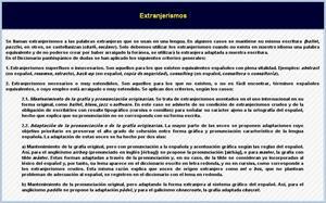 Definición de extranjerismos y ejemplos
