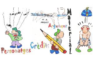 La flauta mágica. Actividades JClic