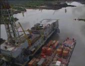 Enciclopèdia audiovisual de les Ciències i de les Tècniques (In situ). Oceanografia. La plataforma petrolera