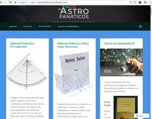 Astronomía didáctica