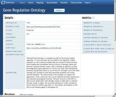 Gene Regulation Ontology