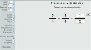Fracciones, Decimales y Porcentajes: Suma, Resta, Multiplicación y División