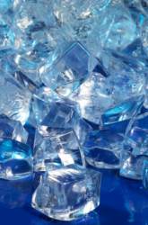 Can superabsorbent polymer crystals absorb any other liquids besides water?