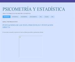 CANAL DE ESTADÍSTICA Y PSICOMETRÍA