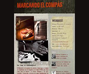 Marcando el compás, una webquest de Flamenco (Música 4º ESO)