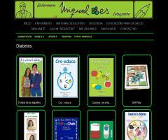 Fichas educativas sobre la diabetes: 'colorea, recorta  y hablamos' (mfloresimagina.es)