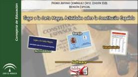 Jugar a la Carta Magna. Actividades sobre la Constitución Española