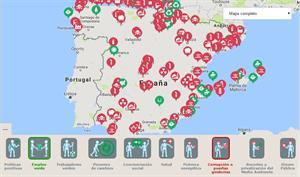 Radiografía social del medio ambiente en España en un mapa interactivo (Greenpece)