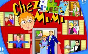 Chez Mimi. Aplicación ineractiva on-line para practicar francés