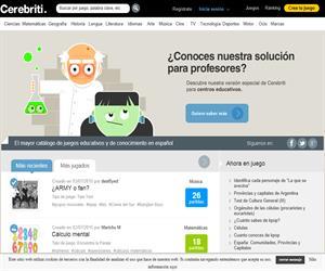 Cerebriti, una plataforma para crear y compartir juegos educativos de manera gratuita