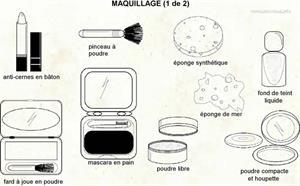 Maquillage (Dictionnaire Visuel)