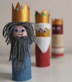 5 manualidades infantiles ¡de los Reyes Magos! Pequeocio.com