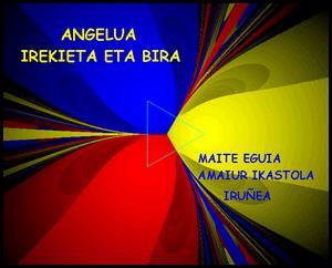 Angelua Irekieta Eta Bira (El ángulo: giro y abertura)