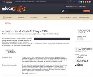 Amereida, ciudad abierta de Ritoque 1970 (Educarchile)