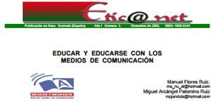 """Proyecto """"Educar y educarse con los medios de comunicación"""""""