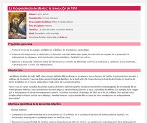 La independencia de México: la revolución de 1810