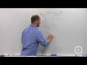 Quotient Rule of Logarithms