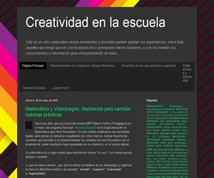 Creatividad en la escuela, el blog de una docente de TIC