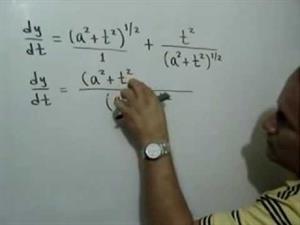 Derivada de una función utilizando la Regla del Producto y la Regla de la Cadena para potencias (JulioProfe)