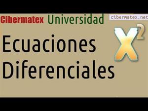 Ecuación Diferencial Exacta con factor integrante. Cibermatex