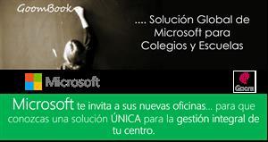 Evento 9 Junio: GoomBook, Una Solución Global de Microsoft para Colegios y Escuelas