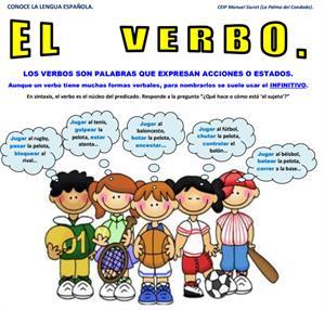 ¿Qué son los verbos?