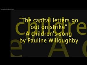 The Capital Letter Song