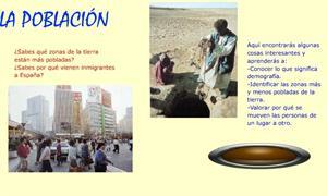 La población de la Tierra y de España