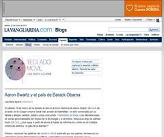 Aaron Swartz y el país de Barack Obama