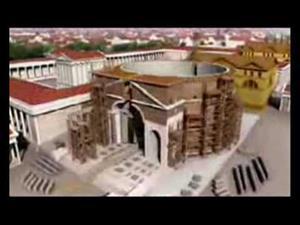 La antigua Roma en 3D